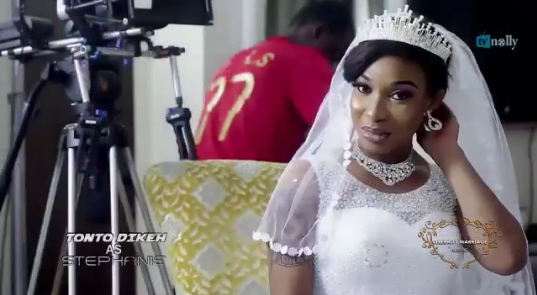 Tonto Dikeh in Celebrity Marriage - OLORISUPERGAL