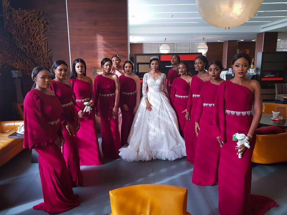 Yomi Causual and Grace White Wedding - OLORISUPERGAL