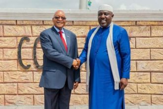 Governor Okorocha and Jacob Zuma - OLORISUPERGAL