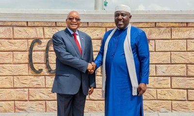 Governor Okorocha and Jacob Zuma - OLORISUPERGAL