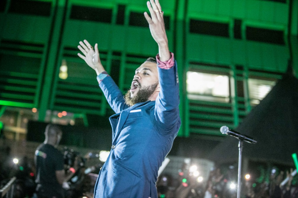 jidenna and heineken in abuja