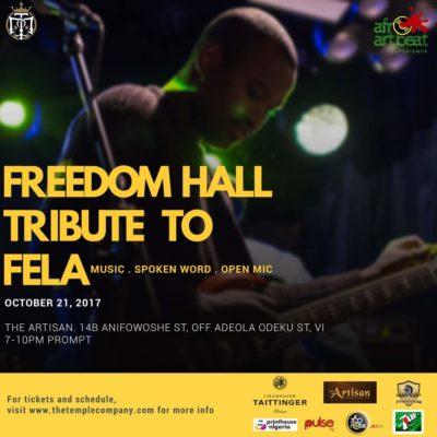 Freedomhall tribute to Fela - OLORISUPERGAL