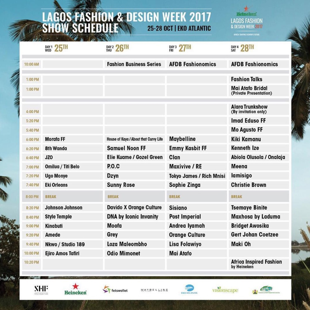 Lagos Fashion and Design Weekend - OLORISUPERGAL