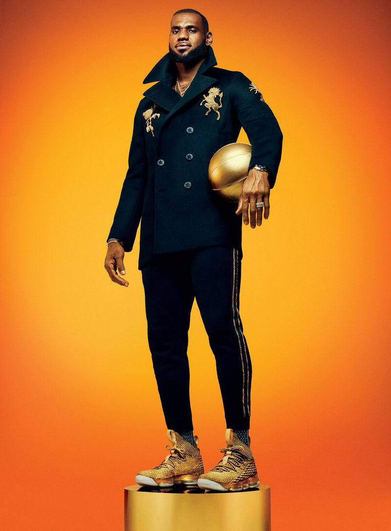 LeBron James covers GQ Magazine - OLORISUPERGAL