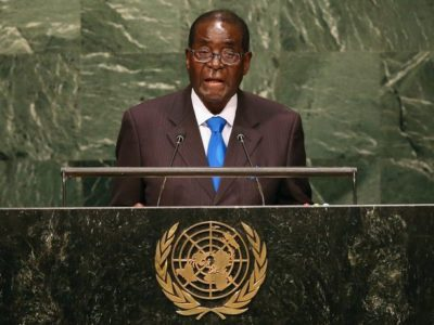 Robert Mugabe - OLORISUPERGAL
