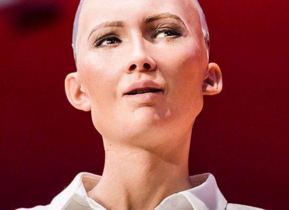 Sophia the robot - OLORISUPERGAL