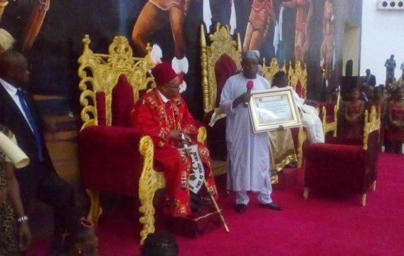Jacob Zuma given chieftaincy title in Imo State - OLORISUPERGAL