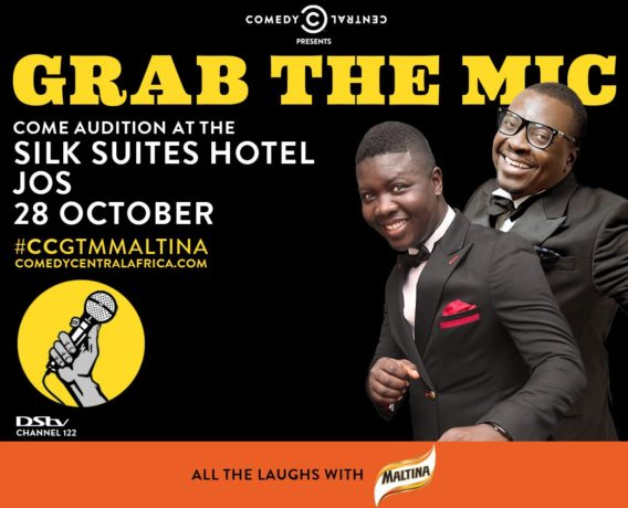 Comedy Central grab the mic - OLORISUPERGAL