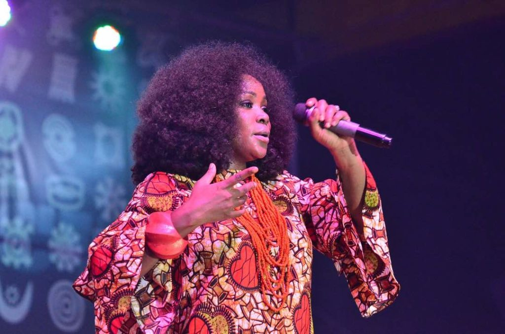 OMAWUMI AND FEMI KUTI AT FELABRATION 2017