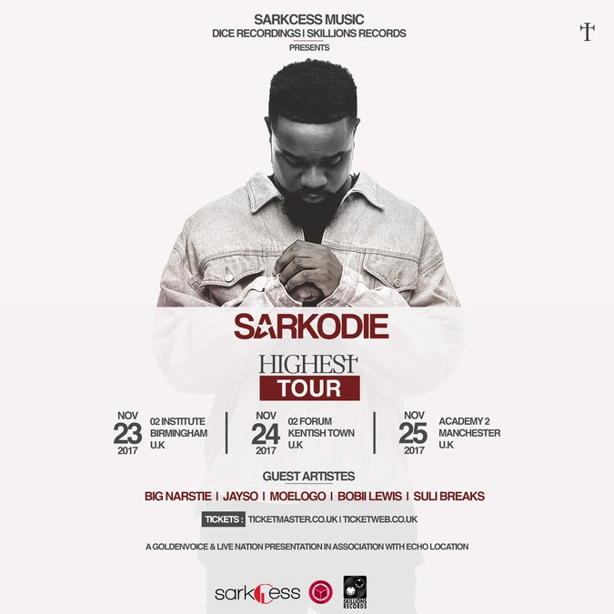 Sarkodie Highest Album Artwork