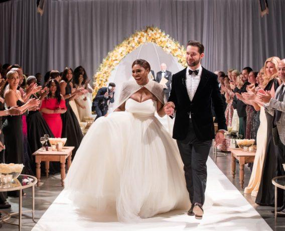 Serena Williams and Alexis Ohanian's Wedding - OLORISUPERGAL