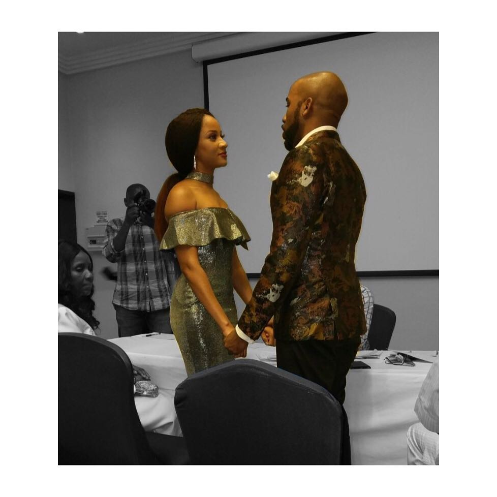 Banky W & Adesua Etomi Court Wedding - OLORISUPERGAL