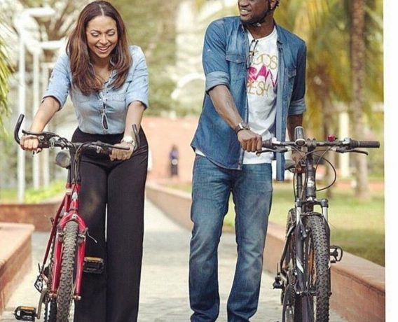 Peter Okoye and Lola Omotayo - OLORISUPERGAL