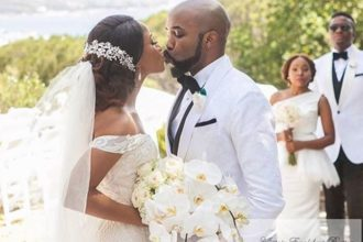 BANKY W AND ADEUSA WEDDING IN CAPETOWN