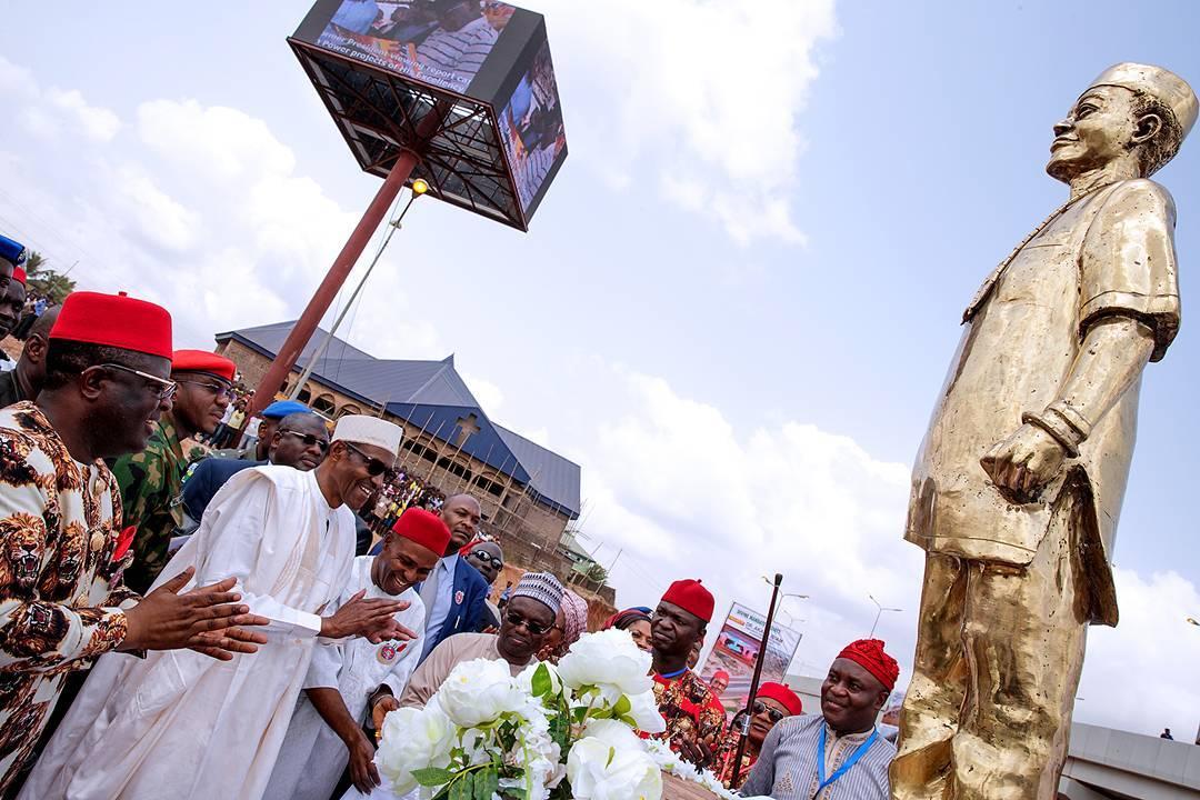 President Buhari in Ebonyi State - OLORISUPERGAL