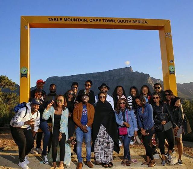 BANKY W AND FRIENDS-CAPETOWN