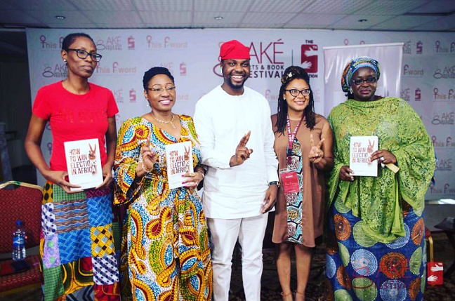 Yemi Adamolekun, Bisi Adeleye Fayemi, Adebola Williams, Omolewa Ahmed and Isabella Ak