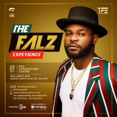 Falz announces first ever concert The Falz Exeperience