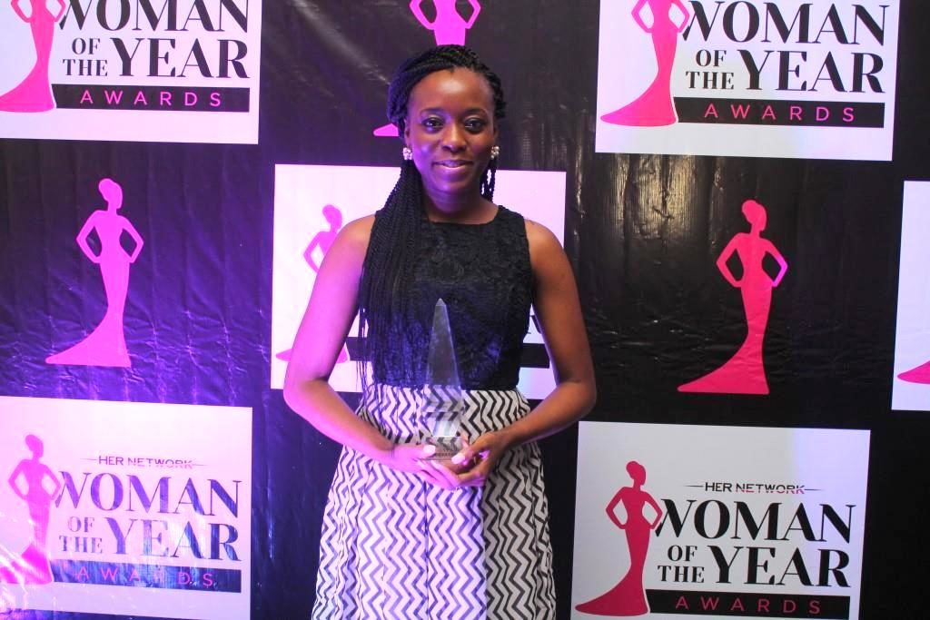 Omotade Alalade - Winner Woman of the Year (Advocacy Category)
