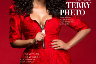 Terry Pheto for BLANCK cover 1