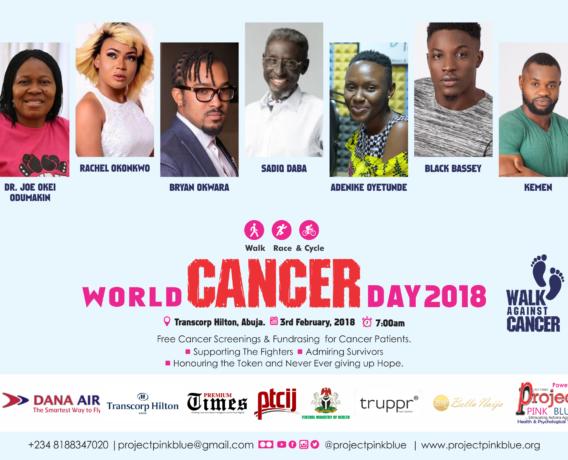 cancer walk in abuja-olorisupergal