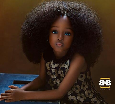 four year old nigerian girl's beautiful picture breaks