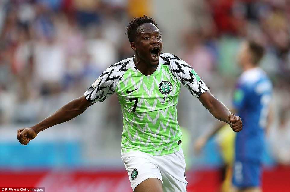 Ahmed Musa's goal nominated for goal of the tournament ...