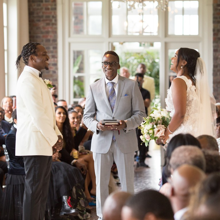 Newly Weds Rapper Pusha T Marries Virginia Williams In