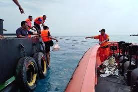 Indonesia plane crash into the sea with 189 aboard.