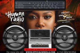 Niniola Presents The Human Radio Concert - IG Flyer - Designed by Edesiri Ukiri - Graphixed