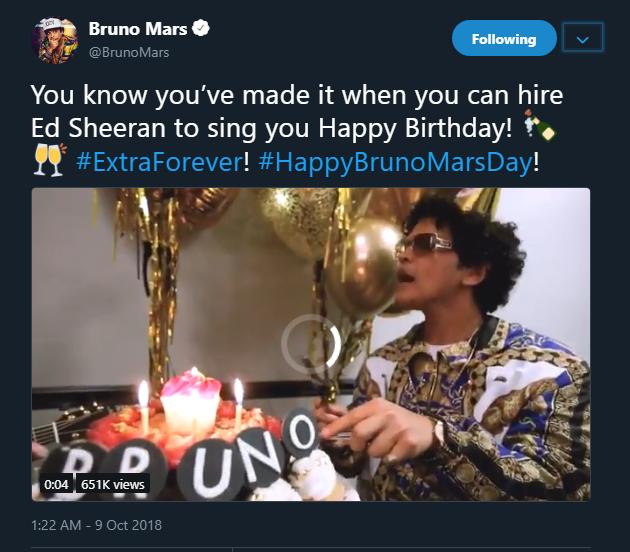 Bruno Mars - Olorisupagal.com
