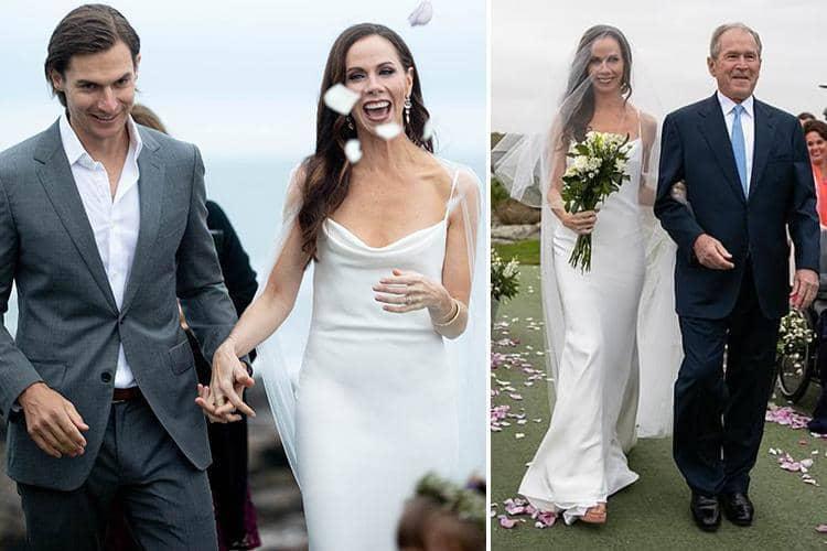 us former first daughter barbara bush got married secretly