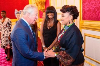 Lola Maja meets with Prince Charles