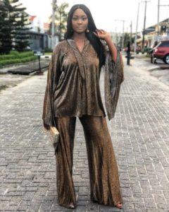 Osas Gbenro at Heineken fashion week