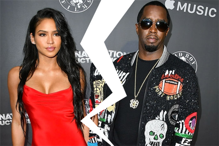 cassie diddy break combs sean split ventura jocelyn chew girlfriend instagram reportedly romance breakup together okay they whether beard cryptic