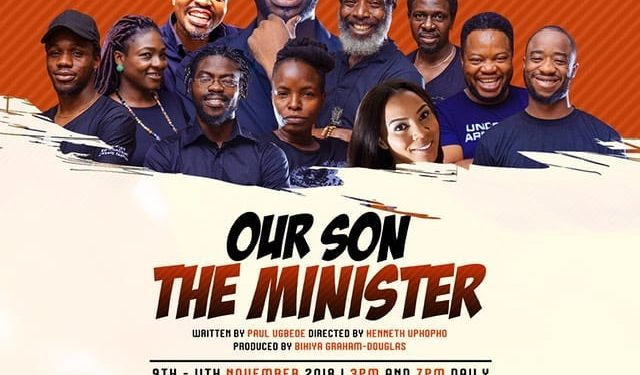 Interview with Bikiya Graham-Douglas, producer of Our son the Minister play.
