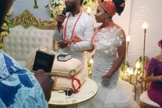 Linda Ejiofor and Husband, Ibrahim Suleiman.