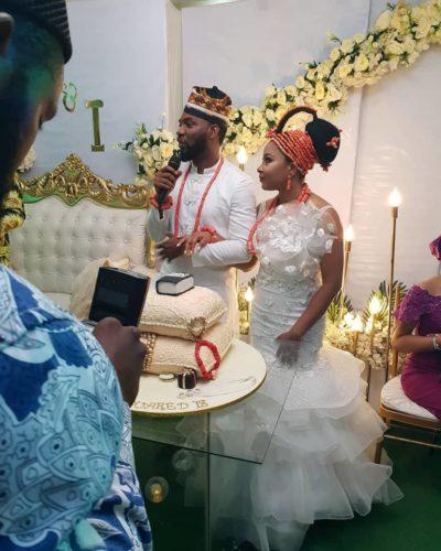 Linda Ejiofor and Husband, Ibrahim Suleiman.