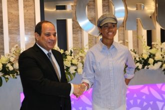 Zuriel Welcomed To Egypt By President El Sisi