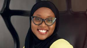 Hauwa Ojeifa awarded at the MTV EMA