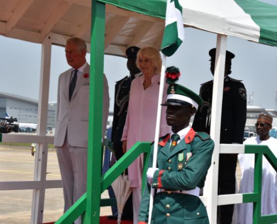 Royals arrive in Nigeria - Olorisupergal.com