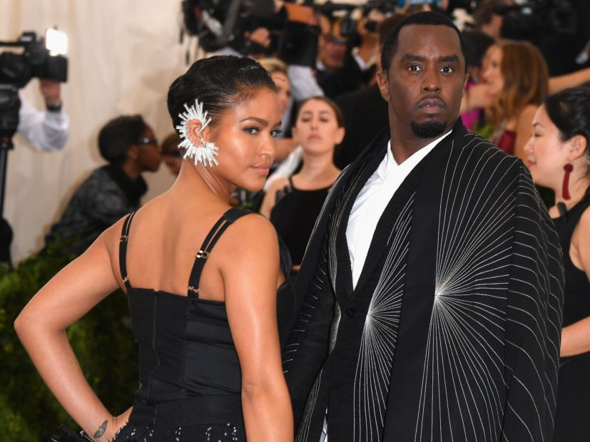 Diddy Shares Throwback Picture Of Ex, Cassie, Who Then