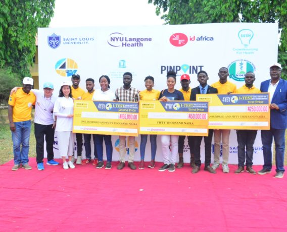 3 Young Nigerians Win N450, 000 in 4YBY World AIDS Day Event