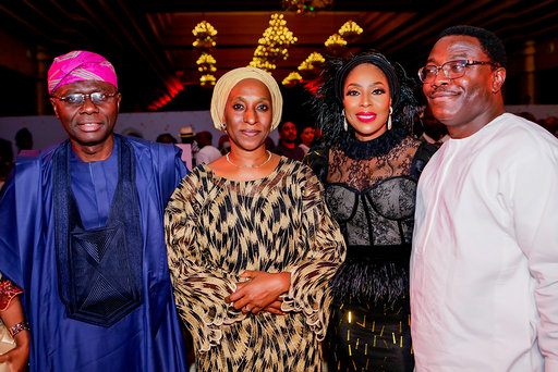 DIGNITARIES, CELEBRITIES TURN OUT FOR THE GRAND PREMIERE OF CHIEF DADDY