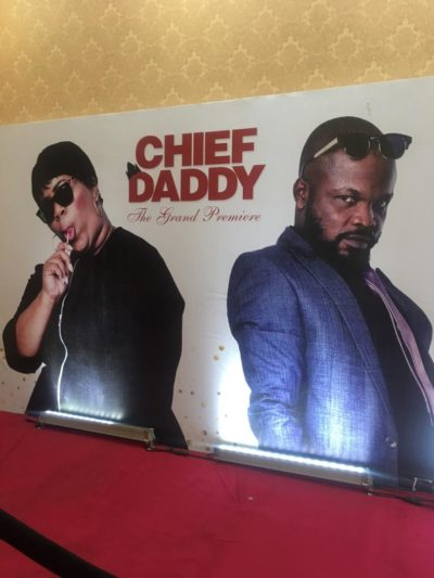 Celebrities steps out in style and a little extra for the grand premiere of Chief Daddy Movie
