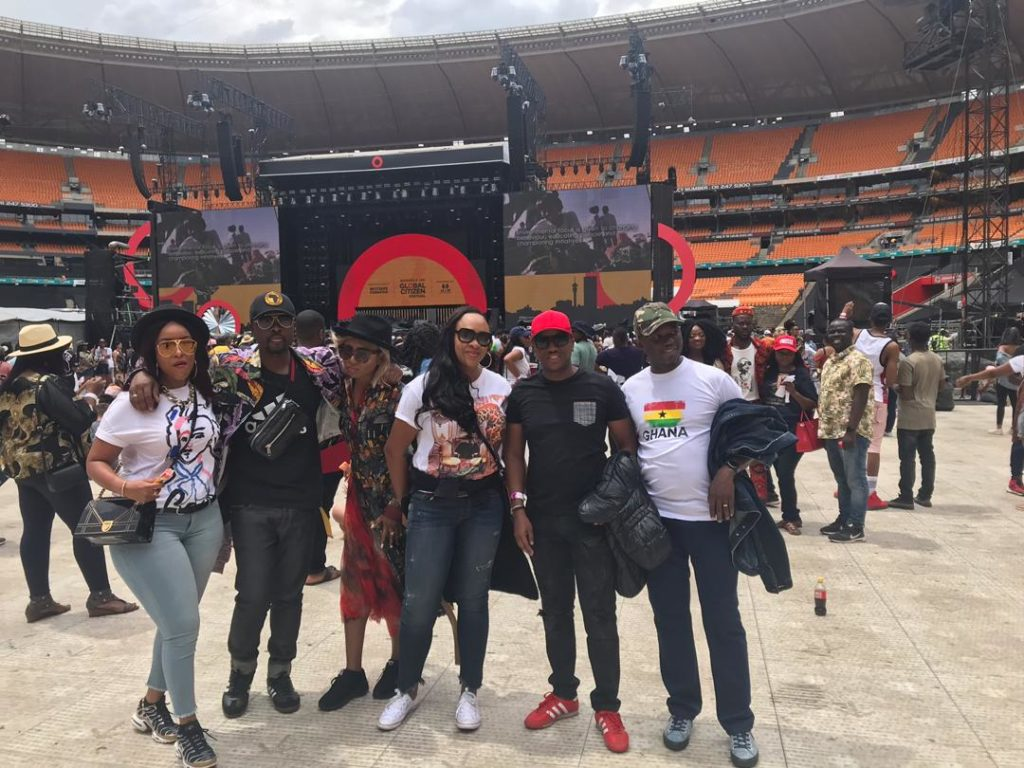 History was made at the Global Citizen Festival:Mandela 100 on Decemebr 2, 2018.