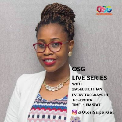 OSG LIVESERIES WITH @ASKDDIETITIAN