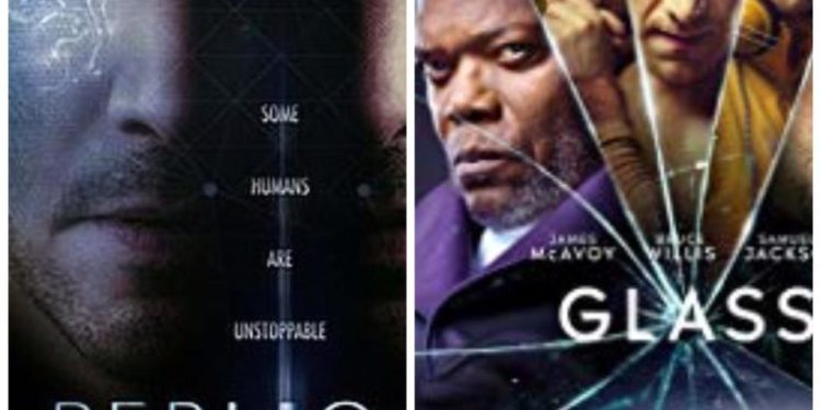 Top Hollywood movies showing in January.