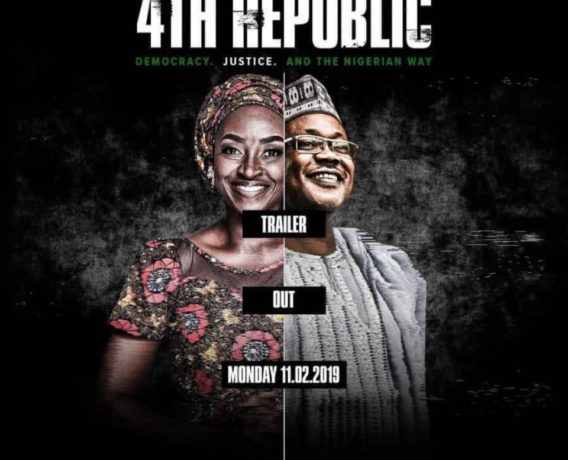 GUNS, BALLOTS AND COURTROOMS! ISHAYA BAKO'S'4TH REPUBLIC' HEADS TO CINEMAS APRIL 12 (WATCH ACTION-PACKED TRAILER)