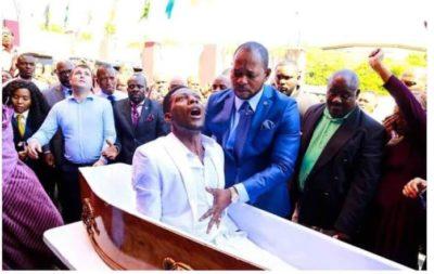Zimbabwean Man, Brighton Elliot Moyo allegedly resurrected by Pastor Lukau finally dies.